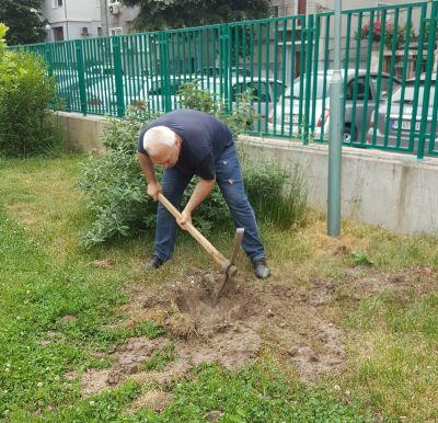 Да посадиш дърво - ДГ Мир - Пловдив